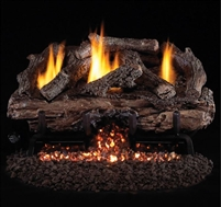 "Charred Aged 24""/30"" Vent-Free Gas Log Set"
