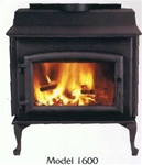 High Valley Model 1600 Non-Catalytic Wood Burning Heater