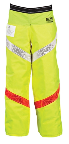 Performance 6 Layer Apron Chaps - Hi-Visibility