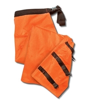 Performance 6 Layer Wrap Chaps - Orange