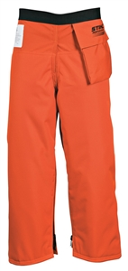 Performance 6 Layer Zip Chaps - Orange