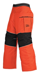 Pro Mark 9 Layer Apron Chaps - Orange