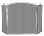 Uniflame 3 Fold Stainless Steel Screen