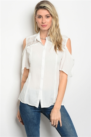 S15-7-5-T8837 OFF WHITE TOP 2-2-2