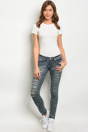 S4-2-1-P1005 DARK DENIM PANTS 1-2-2-2-2-1-1