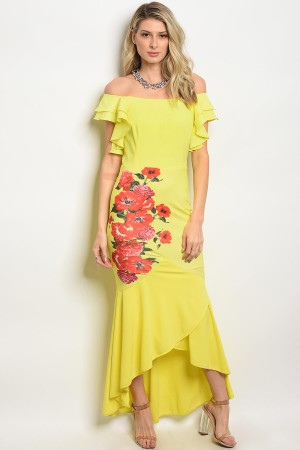 S8-12-1-D6302 YELLOW RED DRESS 2-2-2