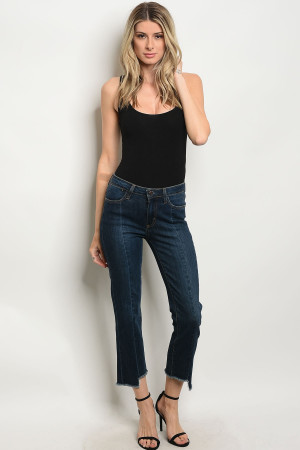 118-1-1-J98 DARK DENIM JEANS 2-1-1-4-1