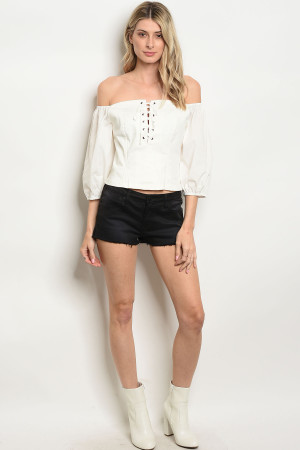 SA4-4-3-J149 BLACK DENIM SHORTS 2-3-3-2-1-1