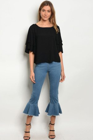 S4-10-2-P12794 LIGHT DENIM PANTS 3-2-1