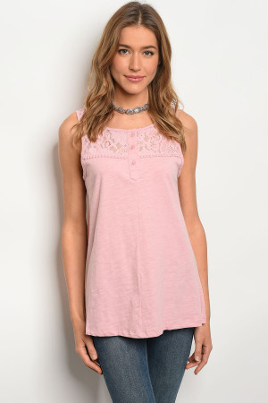 S12-7-4-T10432 PINK TOP 2-2-2