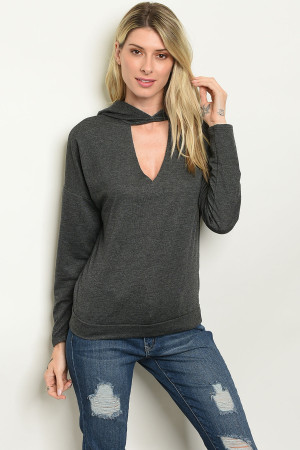 S54-B-2-S30534 CHARCOAL SWEATER 2-2-2