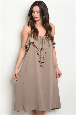 S8-5-4-D9675 TAUPE DRESS 2-2-2