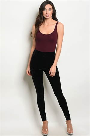 S11-8-5-L211622 BLACK VELVET LEGGINGS 1-3-3-2