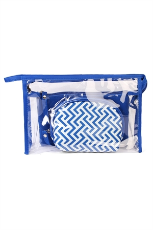 S5-6-1-AHDG1584SP SAPPHIRE COSMETIC BAG/6PCS
