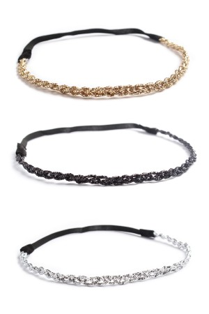 S6-5-4-AHDH1299 ASORTED MIX COLORS HEADBAND/12PCS