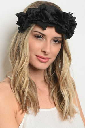 SA3-1-3-HR4139 ASSORTED FLOWER HEADWRAP/12PCS