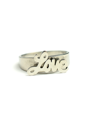 "202-2-4-AR2405 ""LOVE"" RINGS/12PCS"