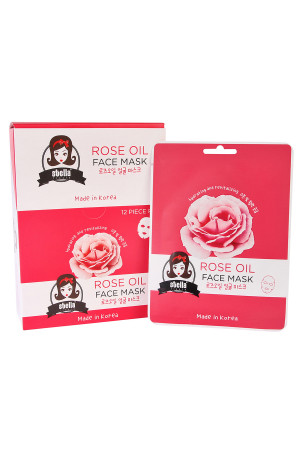 S5-4-3-APDQSFM902 STELLA ROSE OIL FACE MASK/12PCS