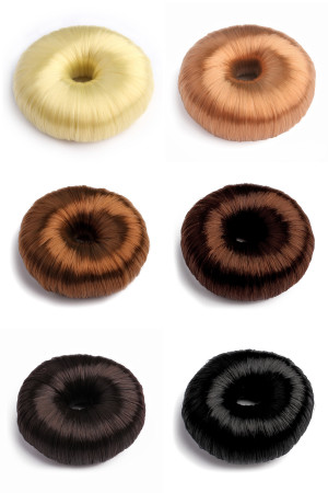 S4-4-1-AXHA5328MIX ASSORTED DOUGHNUT HAIRBAND/12PCS