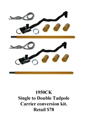 Single to Double Tadpole Carrier Conversion Kit