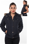 detachable hood and sleeve jacket