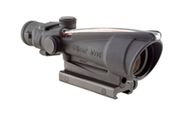 TRIJICON TA11F ACOG 3.5x35 Scope, Dual Illuminated Red Chevron BAC .223 Flattop Reticle w/ TA51 Mount