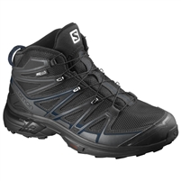 SALOMON X-CHASE MID CS WP BK/BK/BLUE DEPTH