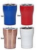 SIC 12 OZ COLORED CUPS FREE ENGRA