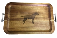 Labrador retriever tray