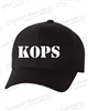 KOPS BLACK FITTED HAT