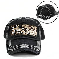 BLESSED CHEETAH - BLACK HAT