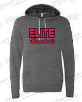 Elite Baseball Hoodie- Baseball Text