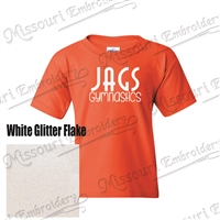 JAGS Orange BLING t-shirt