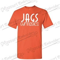 JAGS Orange t-shirt