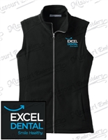 EXCEL DENTAL LADIES MICROFLEECE VEST
