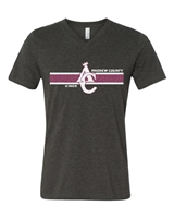 AC KINGS DARK HEATHER V-NECK