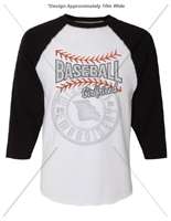 3/4 SLEEVE BASEBALL GIRLFRIEND SHIRT