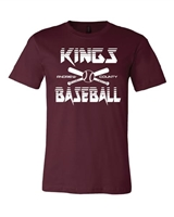 AC KINGS MAROON T-SHIRT