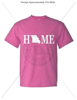 MISSOURI HOME T-SHIRT- RADIANT ORCHID