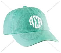 SEAFOAM ASA CIRCLE MONOGRAM HAT