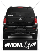 MOM LIFE CAR DECAL