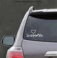SCRUB LIFE DECAL