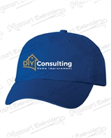 DIY Consulting Royal Blue Classic Hat