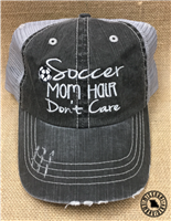 SOCCER MOM HAIR DON'T CARE HAT