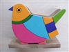 Wooden Bird Napkin Holder - El Salvador