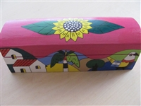 Fuchsia Sunflower Box - El Salvador