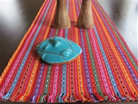 Loomed Table Runner, Brights - El Salvador