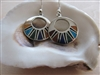 Mosaic Earth Earrings - Mexico