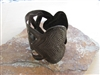 Heart Oil Drum Cuff - Haiti