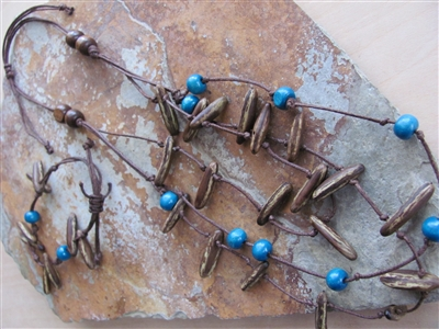 Getsemaní Maya Sky Necklace, Bracelet Set - El Salvador
